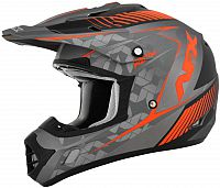 AFX FX-17YE Factor, cross helmet kids