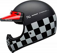Bell Moto-3 Fasthouse Checkers, integral helmet