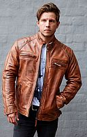 Blackbird Pembrey, leather jacket