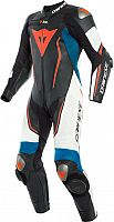 Dainese Misano 2 D-Air, leather suit 1pcs. perforated
