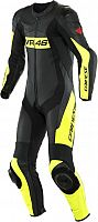 Dainese VR46 Tavullia, leather suit 1pcs. perforated