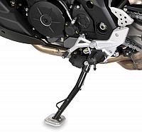 Givi Aprilia Caponord 1200, side stand extension