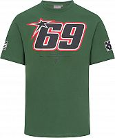 GP-Racing Apparel Nicky Hayden 69 Patches, t-shirt