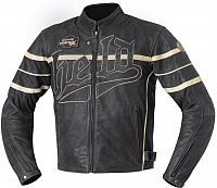 Held Aras, leather jacket