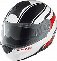 Held by Schuberth H-C3 Trip Dekor, flip up helmet