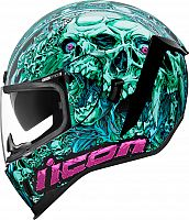 Icon Airform Parahuman, integral helmet