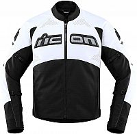 Icon Contra-2 Leather, leather-textile jacket perforated