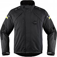 Icon Raiden DKR Monochromatic, textile jacket waterproof