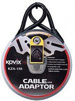 Kovix KD6, safety cable and adapter set