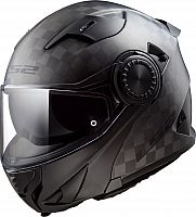 LS2 FF313 Vortex Carbon, flip up helmet