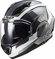 LS2 FF900 Valiant II Orbit, flip-up helmet