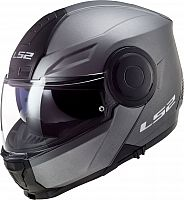 LS2 FF902 Scope Solid, flip-up helmet