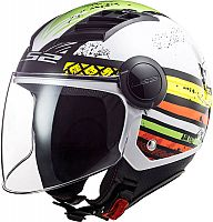 LS2 OF562 Airflow Ronnie, jet helmet