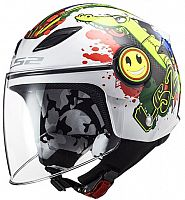 LS2 OF602 Funny Croco, jet helmet kids