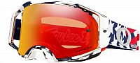 Oakley Airbrake MX TLD Patriot RWB, cross goggle Prizm