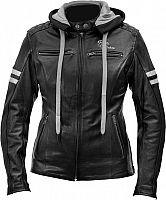 Rusty Stitches Joyce Hooded, leather jacket women