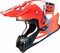 Scorpion VX-16 Air Mach, cross helmet