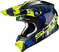 Scorpion VX-16 Air Oratio, cross helmet