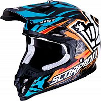Scorpion VX-16 AIR S19 ROK Replica, cross helmet