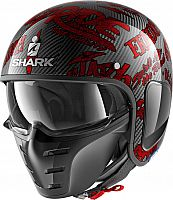 Shark S-Drak Freestyle Cup Carbon, jet helmet