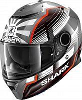 Shark Casco integral Spartan Carbon Priona negro gris das talla L