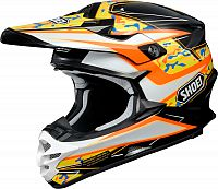 Shoei VFX-W Turmoil, cross helmet