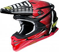 Shoei VFX-WR Blazon, cross helmet