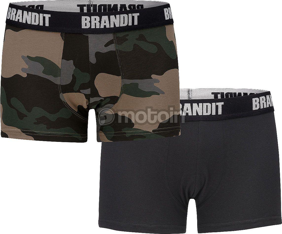 Brandit BW Boxershorts Boxer Nero