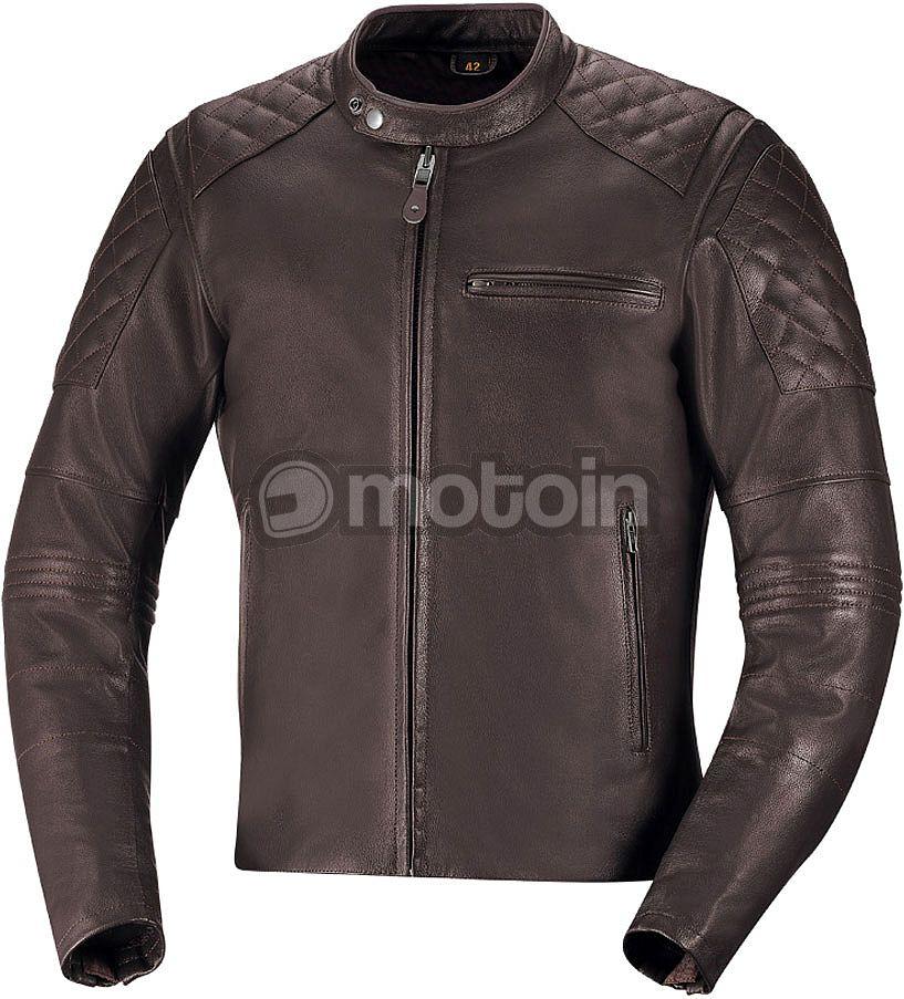 IXS Eliott giacca in pelle da motociclista