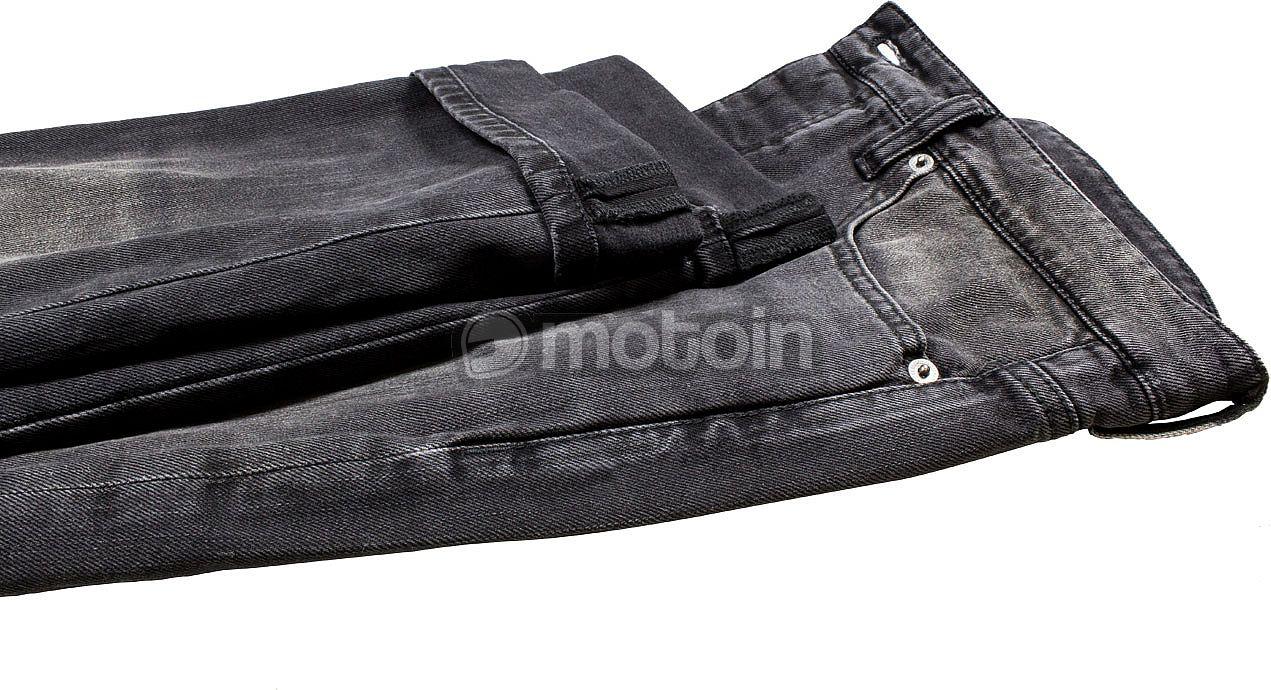 John Doe Ironehead Motorrad Jeans Einsetzbare Protektoren Motorradhose mit Kevlar XTM Atmungsaktiv Denim Jeans mit Stretch