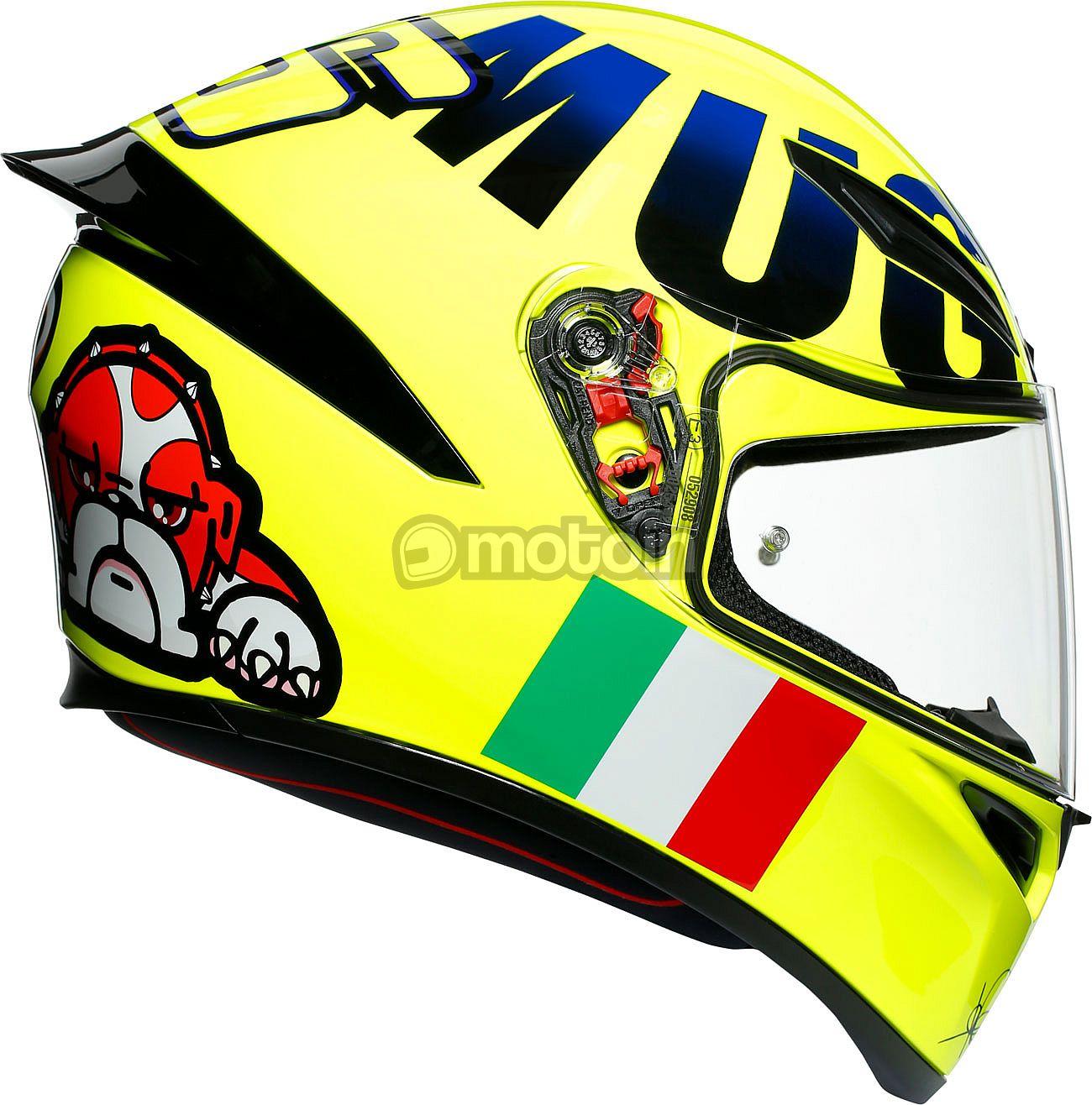 Agv K1 Rossi Mugello 2016 Integral Helmet Motoin De