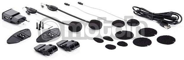 Bluetooth 2 Kopfh/örer Kopfh/örer mit Ger/äuschunterdr/ückung Midland BTX1 Pro Doppel-Gegensprechanlage f/ür Motorrad Pilotenkommunikation f/ür Beifahrer