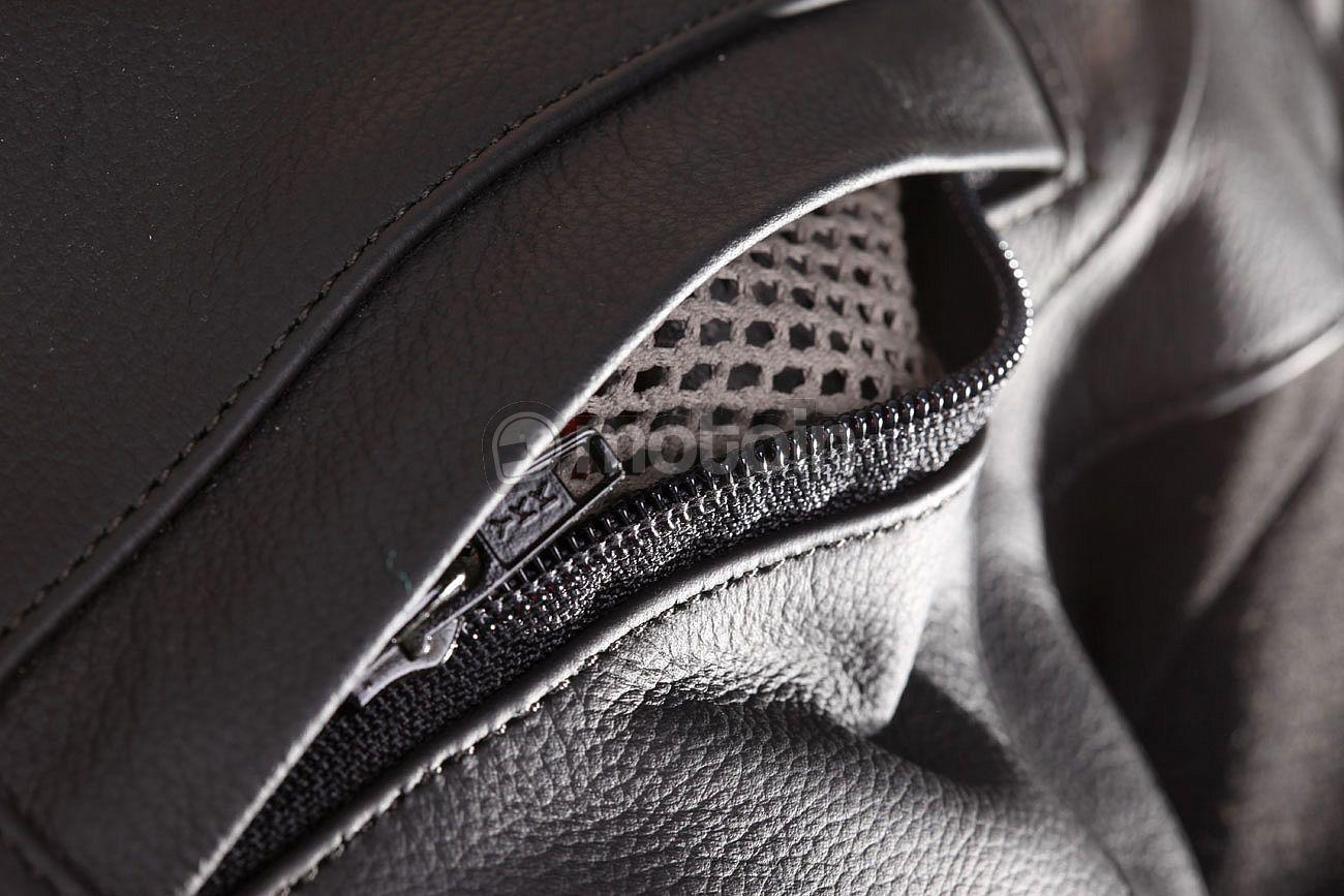 Modeka tOURRIDER pantalon en cuir-noir