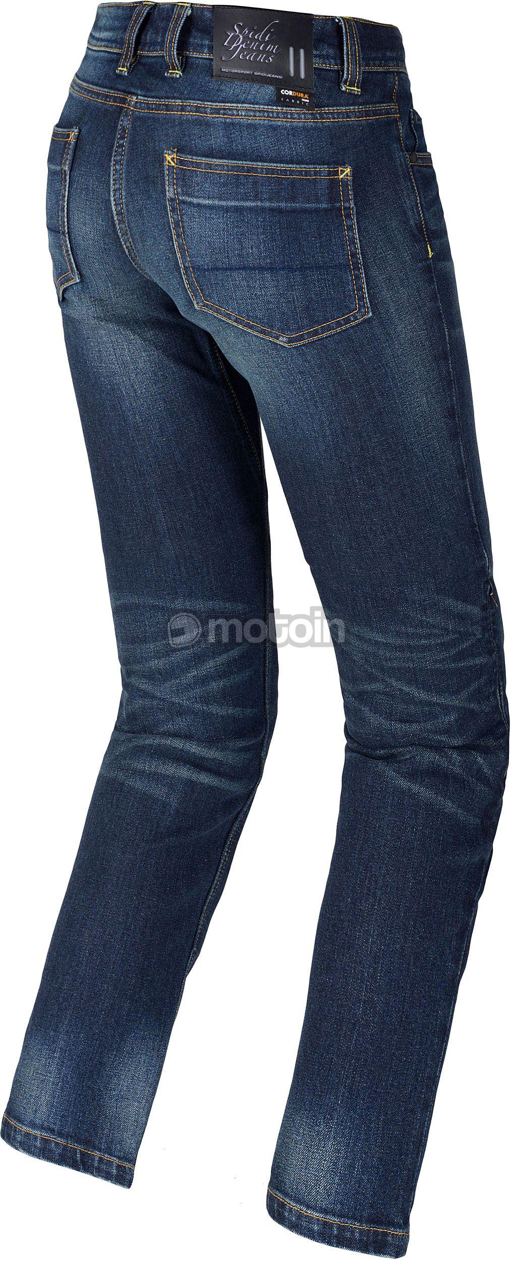 Jeans tissu coton bleu foncé fermement Denim pour Vêtements Pantalon Veste au mètre